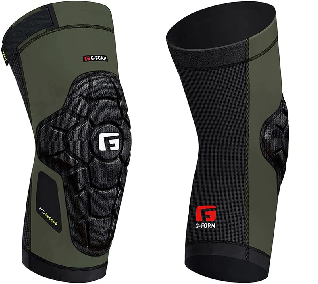 G-Form Year-end annual OFFicial site account Pro Rugged Knee Guards - Green Large Army
