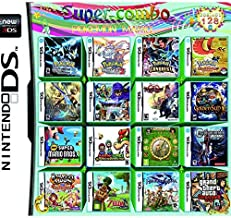 208 in 1 DS Game Pack Card Compilations Video Game DS Cartridge Multicart for DS NDS NDSL NDSi 3DS 2DS XL DS Lite