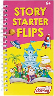 Junior Learning JL455 Story Starter Flips Flipbook, Multicolor