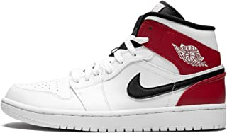 Men's Jordan AJ 1 Mid Leather Casual Shoes