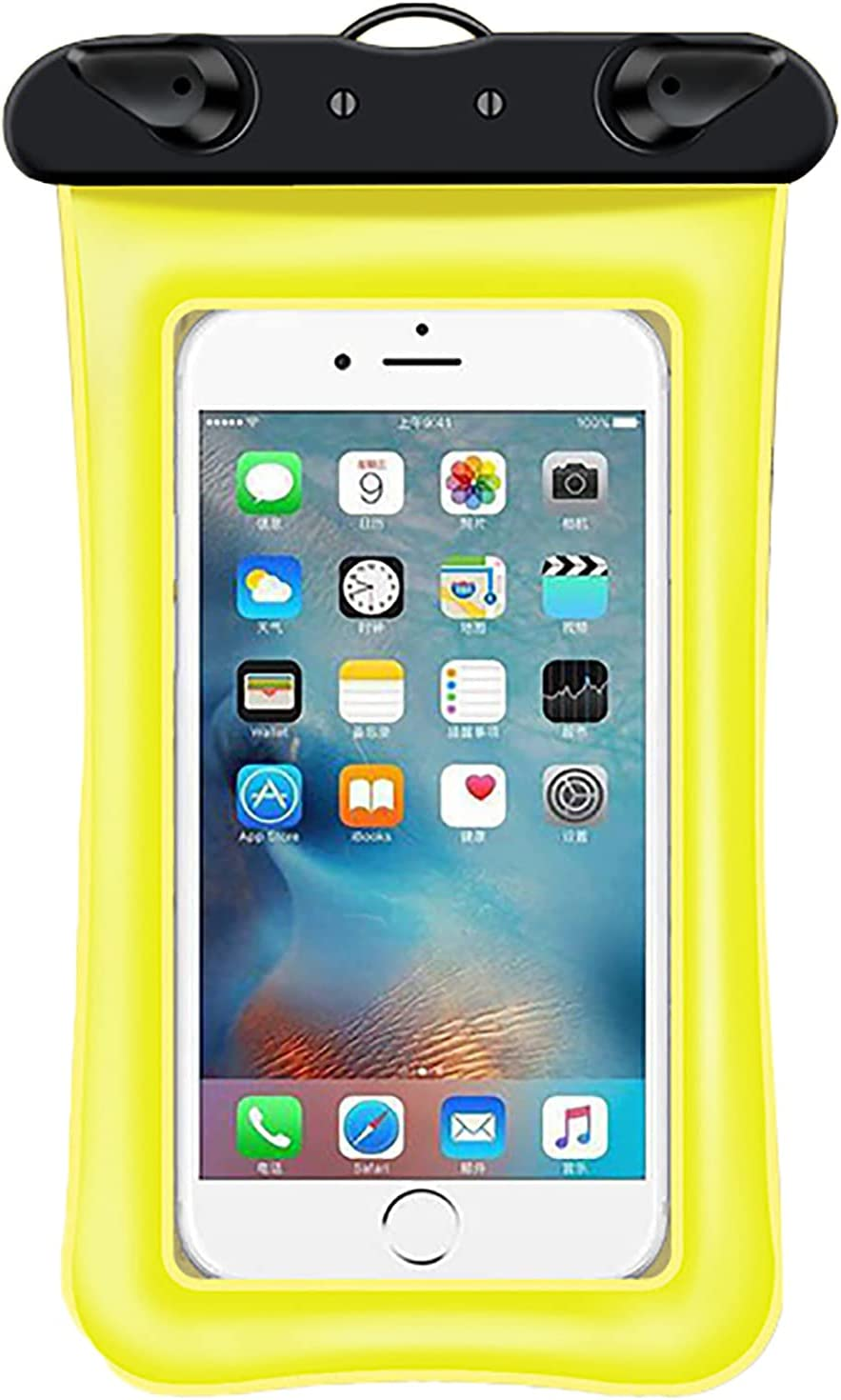 Anjing Cell Phone Dry Bags Waterproof Case Beach Accessories Phone Pouch Easy to Use Keep Your Phone and Valuables Safe and Dry