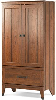Child Craft Redmond Collection Ready-to-Assemble Armoire - Coach Cherry