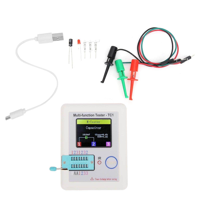 Bombing free shipping Fees free Jeanoko Transistor Tester Multifunctional Self‑Calibration