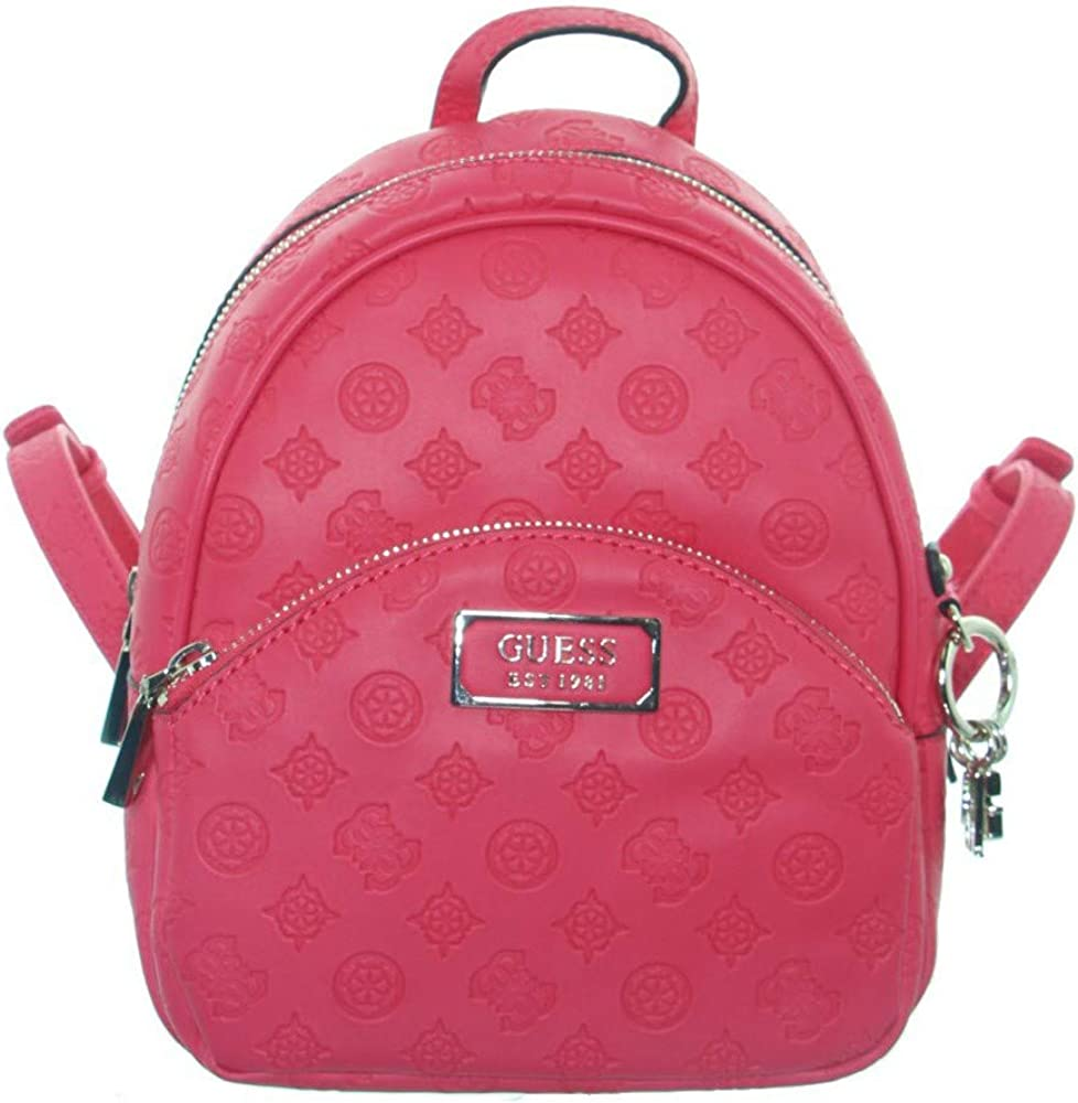 Guess, zaino per donna hibiscus,in similpelle guess-hwsg76-62320-hib