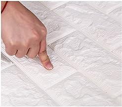 ZhHOME 3D Wallpaper DIY Waterdichte Muurstickers Marmeren Sticker 70cm* 77cm 3d Wandpanelen Voor Woonkamer 3D Baksteen Ste...