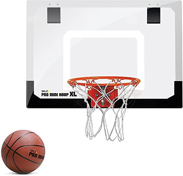 SKLZ Pro Mini Basketball Hoop With Ball XL 23 X 16 Inches