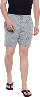 VIMAL Jonney Men's Cotton and Crush Blended Shorts (Silver, X-Large)