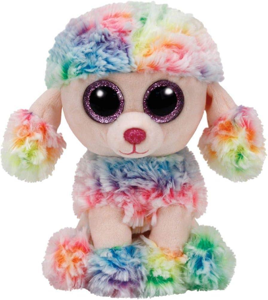 TY 37223 Beanie Boos Rainbow Dog Reg, Small