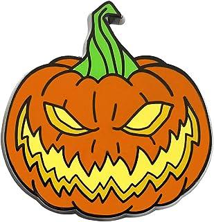 Pinsanity Creepy Horror Halloween Pumpkin Enamel Lapel Pin