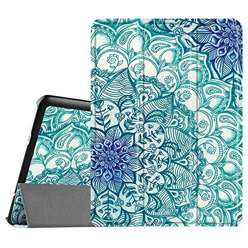 """FINTIE Custodia per Samsung Galaxy Tab S2 9.7 - Ultra Sottile di Peso Leggero Tri-Fold Case Cover con Funzione Sleep/Wake per Samsung Galaxy Tab S2 9.7"""" T810N / T815N / T813N / T819N, Emerald"""