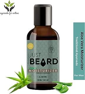 Just Beard Aloe Vera Softener & Moisturizer for Men 200ml. Conditioner and Softener