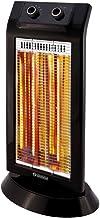 Olimpia Splendid 99579 Carbon Black Calefactor Halogeno 1100 W, 45 m³
