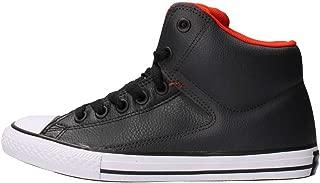 Converse Kids Chuck Taylor All Star High Street Hi Fashion Sneaker - Storm Wind/Charcoal - Boys - 3