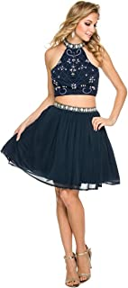 Nox Anabel cocktail and semi formal style dress 6165 ladies size 2xl in navy