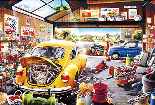 CHIGUANG Puzzle 1000 Piezas, Rompecabezas Impossible para Toda la Familia, Colorido, Rompecabezas para Adultos a Partir de 14 años