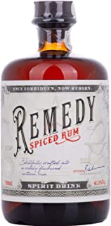 Remedy Spiced Rum Spirit Drink 41,50% 0,70 lt.
