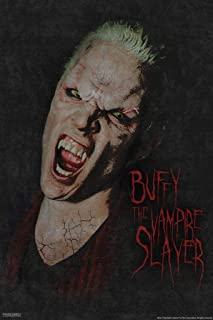 Pyramid America Buffy The Vampire Slayer Spike Vampire Face 90s TV Show Series Horror Laminated Dry Erase Sign Poster 12x18