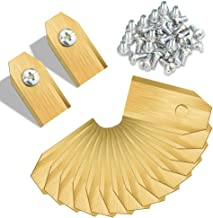 Diacare Titanium messen, 30 stuks, voor robotmaaier, grasmaaieraccessoires, messen, reservemes voor Husqvarna Automower Ga...