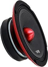 """DS18 PRO-X6.4BMSL Slim Loudspeaker – 6.5"""", Midrange, Red Aluminum Bullet, 500W.."""