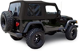 jeep wrangler soft top rear window zipper