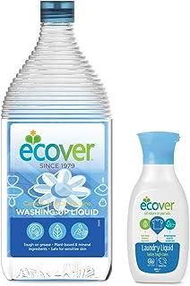 エコベール 食器用洗剤 カモミール 950mL 洗濯用洗剤ミニボトル付き
