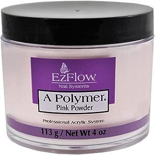 Ezflow Polymer Pink Powder 4 Oz