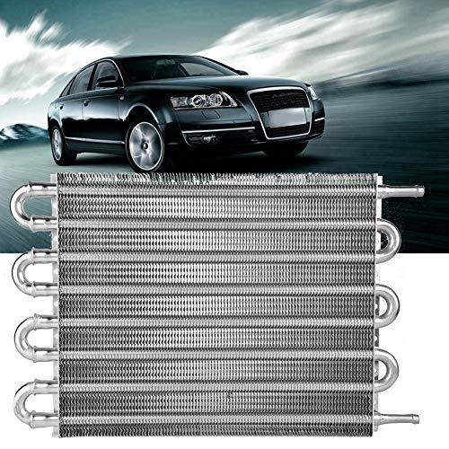radiatore in lega di alluminio e radiatore trasmissione radiatore auto 6 file convertitore radiatore automatico manuale EBTOOLS Radiatore olio cambio