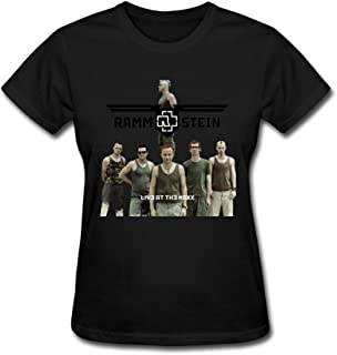JeFF Women Rammstein Band T-shirt