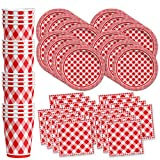 Red Gingham Picnic/BBQ...image