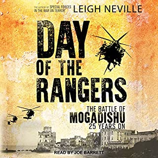 Day of the Rangers audiobook cover art