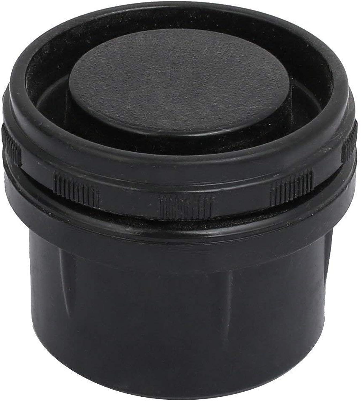 50mm Diameter Round Base ABC Plastic Adjustable Leveling Foot Black