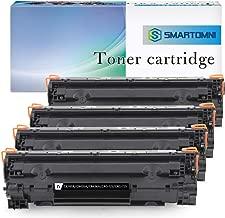 S.Smartomni Compatible Toner Cartridge Replacement for HP 85A 35A 36A HP CE285A CB435A CB436A Canon 125 Toner Ink for HP Laserjet Pro P1102w P1102 M1132 M1212nf M1214 M1217nfw M1130 M1134 Printer