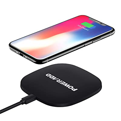 POWERADD Wireless Charger, Qi Certified Ultra-S...