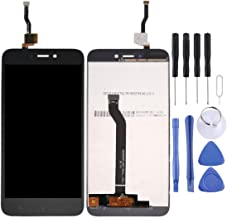 Jiangym Mobile Phone LCD Screen for Xiaomi Redmi 5A LCD Screen and Digitizer Full Assembly(Black) LCD Screen (Color : Black)