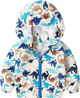 Baohooya Veste De Baseball pour Enfant Fille 3-13 Ans Impression Floral Lettre Bouton Manches Longues Col Ray/é Couture Chic Mode Manteau Blouson