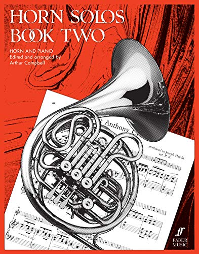 Horn Solos Book 2 (horn and piano): Score and Part (Faber Edition)