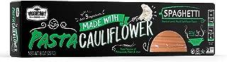 Veggiecraft Cauliflower Spaghetti Simple Ingredient Pasta | Keto, Vegan, Gluten-Free, Non-GMO | Healthy Organic Plant Based | Source of Potassium, Fiber and Iron | 14g Protein | 6 Pack