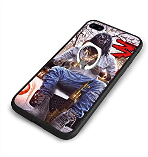 Chief Keef Anti-Fall Classic Black Border iPhone 7/8 Plus Case (5.5)+Ring Bracket Combination