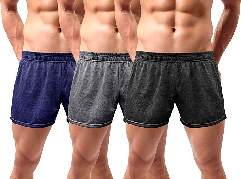 Lehmanlin Challenge the lowest price safety of Japan Workout Shorts with Pockets for Inch Men Bodybuildin 5