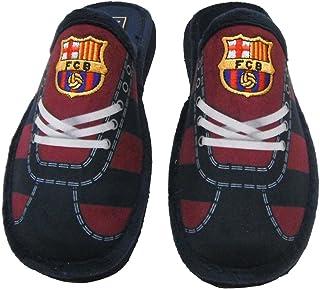 Chaussures FC Barcelona Andar à la maison avec imprimé lacets