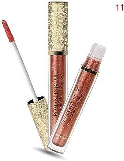 Oceaneshop Women Beauty Shimmer Makeup Waterproof Moisturizer Liquid Lip Gloss Metal Lipstick Diamond Metallic