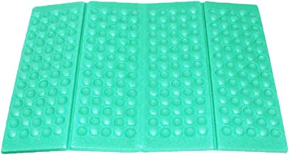 Fine Portable Lightweight Mini Waterproof Folding Mat, Foam Sitting Pad for Outdoor Activities, Foldable Seat Cushion for Comfort, Camping Backpacking Stadium Outdoor