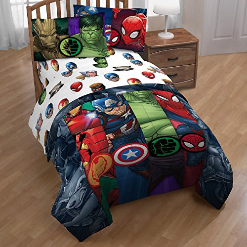 Franco Avengers Infinity War Twin 3 Piece Sheet Set