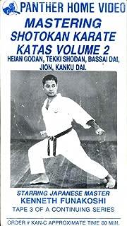Mastering Shotokan Karate - KATAS Volume 2, Tape 3 of a continuing series