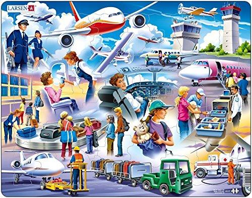 Larsen US27 Un día emocionante en el Aeropuerto, Puzzle de