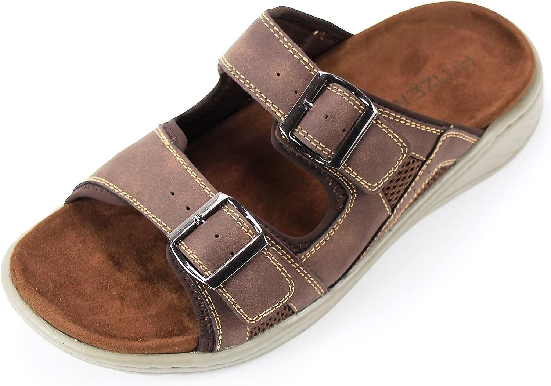 RITIZEN Men's trend rank Sandals Open Toe Outdoor Walking Hiking Be excellence