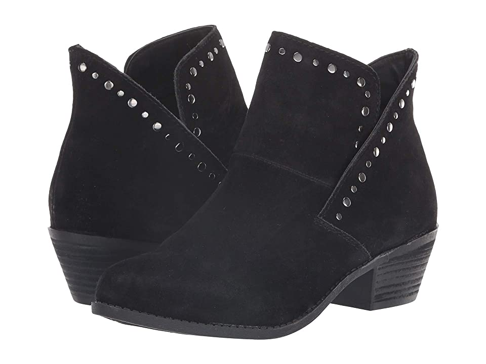 Me Too Zane (Black Suede) Women