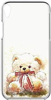 Xperia Z2 SO-03F 用 スマホケース ハードケース [テディベア・赤りぼん] ぬいぐるみ くま SONY ソニー エクスペリア ゼットツー docomo すまほカバー 携帯ケース 携帯カバー [FFANY] teddy_00x_h...