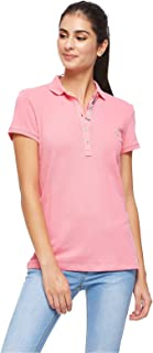 U.S. Polo Assn. Polos For Women, Pink XL, Size XL