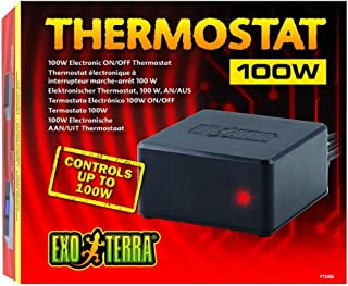 Exo Terra Reptile Electronic On/Off Thermostat, 100 W